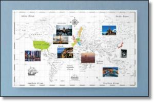 旅行好きなら絶対欲しい世界地図ポスターザマップオブコロンバス